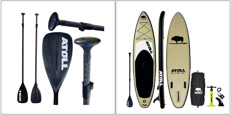 Atoll 11 feet Inflatable Stand Up Paddle Board