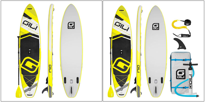 GILI Adventure Inflatable Stand Up Paddle Board