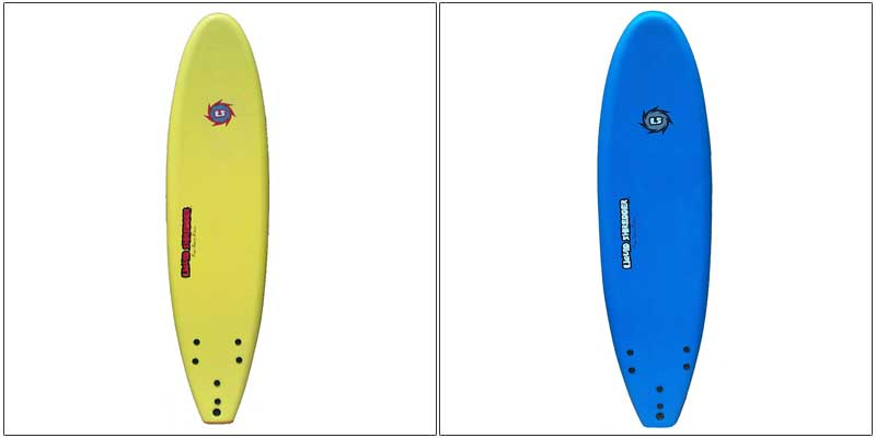 Liquid Shredder 70 FSE EPS/PE Soft Surf Board