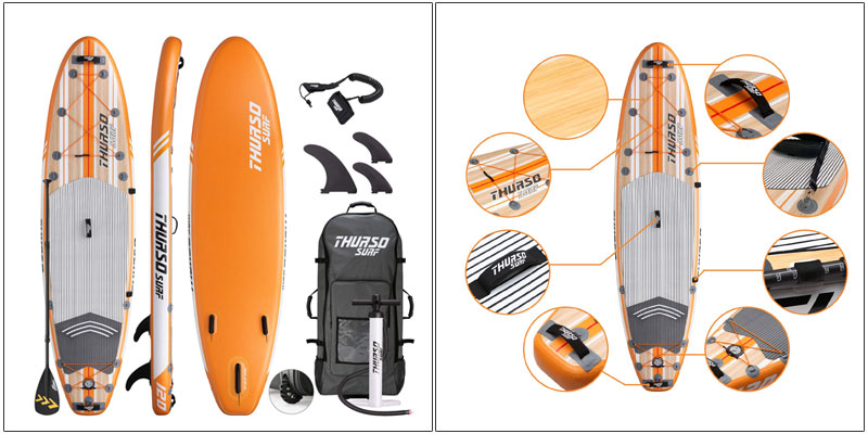 THURSO SURF All-Around Inflatable Stand Up Paddle Board