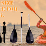 What size paddle for kayak.