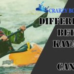 differences between kayaking and canoeing